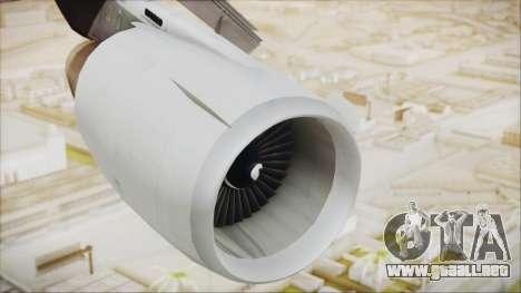McDonnell-Douglas DC-10-30F World Airways para la visión correcta GTA San Andreas