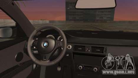 BMW M3 GTS 2011 IVF para la visión correcta GTA San Andreas