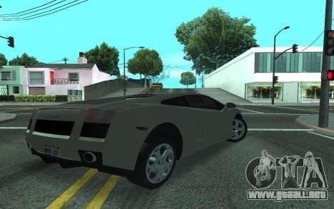 Lamborghini Gallardo Tunable para GTA San Andreas left