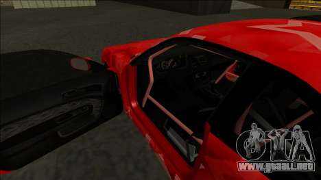 Nissan Silvia S14 Drift Red Star para GTA San Andreas interior