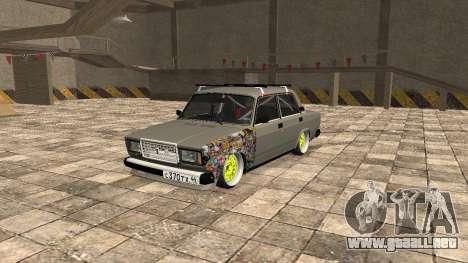 VAZ 2107 JDM para GTA San Andreas
