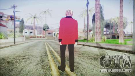 Skin DLC Executive Xmas para GTA San Andreas tercera pantalla