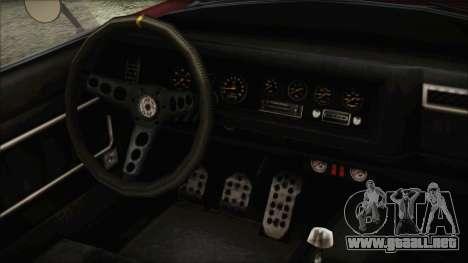 GTA 5 Declasse Mamba IVF para la visión correcta GTA San Andreas