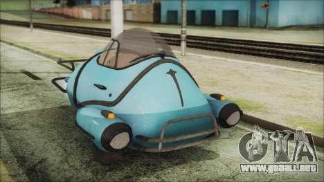 Fallout 4 Fusion Flea para la visión correcta GTA San Andreas