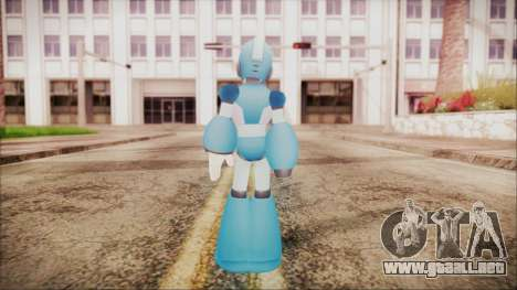 Marvel vs Capcom 3 Megaman para GTA San Andreas tercera pantalla
