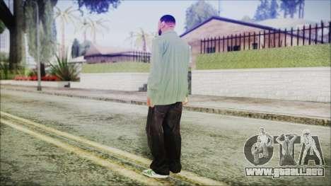 GTA 5 Grove Gang Member 1 para GTA San Andreas tercera pantalla