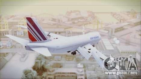 Boeing 747-128B Air France para GTA San Andreas left