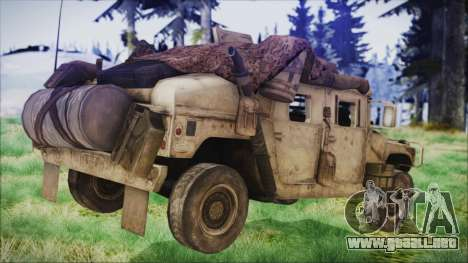 Humvee from Spec Ops The Line para GTA San Andreas left