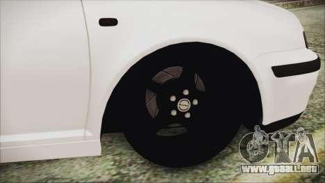Volkswagen Golf 4 Romanian Edition para GTA San Andreas vista posterior izquierda
