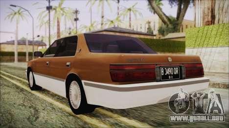 Toyota Crown Royal Saloon 1994 para GTA San Andreas left