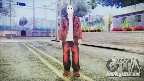 Jason Voorhes para GTA San Andreas segunda pantalla