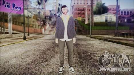 GTA Online Skin 13 para GTA San Andreas segunda pantalla