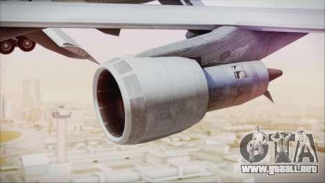 Boeing 747-237Bs Air India Krishna Deva Raya para la visión correcta GTA San Andreas