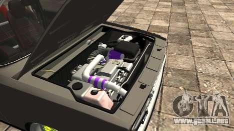 VAZ 2107 JDM para visión interna GTA San Andreas