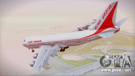 Boeing 747-237Bs Air India Krishna Deva Raya para GTA San Andreas left