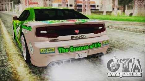 GTA 5 Bravado Buffalo Sprunk para la vista superior GTA San Andreas