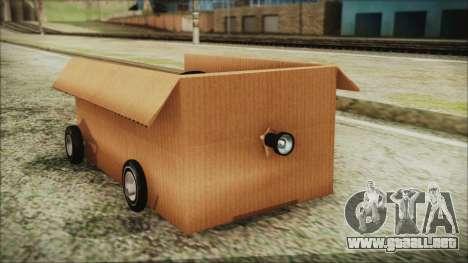 Kart-Box para la visión correcta GTA San Andreas