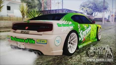 GTA 5 Bravado Buffalo Sprunk para GTA San Andreas left