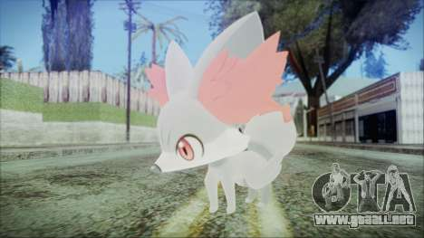 Fennekin Shiny (Pokemon XY) para GTA San Andreas segunda pantalla