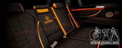 BMW X5M SMOTRA.GT para GTA San Andreas vista hacia atrás
