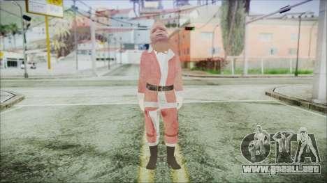 GTA 5 Santa afroamericanos para GTA San Andreas segunda pantalla