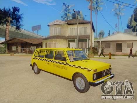 VAZ 2131 7-Puerta del Taxi para GTA San Andreas left