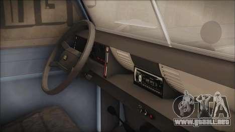 Land Rover Series 3 Off-Road para la visión correcta GTA San Andreas