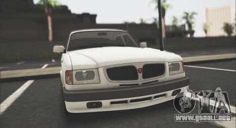 GAZ 3110 Stoke para GTA San Andreas left
