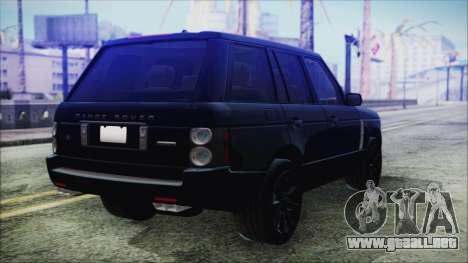 Range Rover Sport para GTA San Andreas left