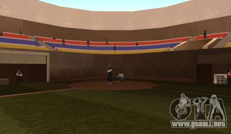 Béisbol para GTA San Andreas tercera pantalla