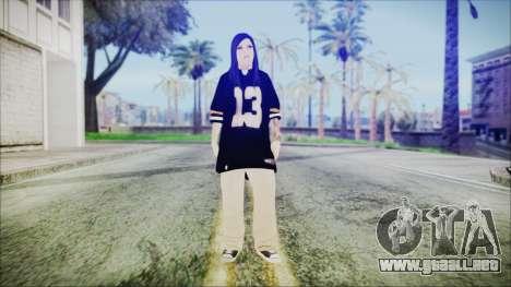 Una Chola para GTA San Andreas segunda pantalla