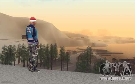 Winter Vacation 2.0 SA-MP Edition para GTA San Andreas