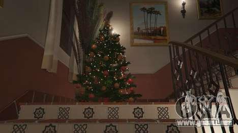 GTA 5 Adornos de navidad para la casa de Michael cuarto captura de pantalla