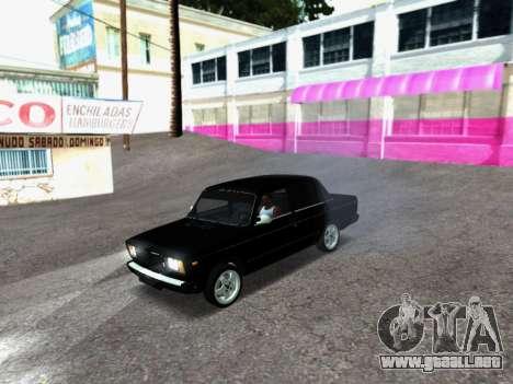 VAZ 2107-107 para GTA San Andreas left