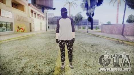 GTA Online Skin 8 para GTA San Andreas segunda pantalla