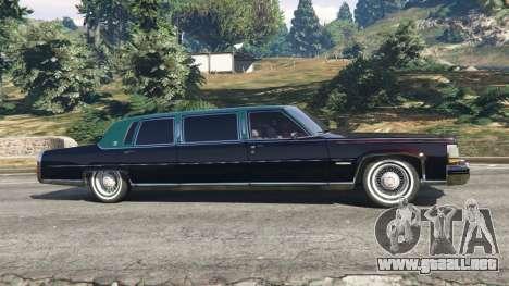 Cadillac Fleetwood 1985 Limousine [Beta] para GTA 5