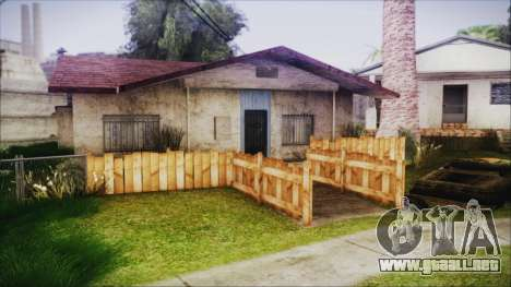 Wooden Fences HQ 1.2 para GTA San Andreas