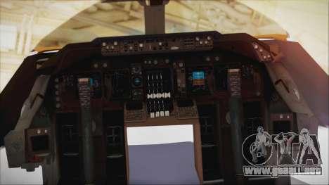 Boeing 747-237Bs Air India Akbar para la visión correcta GTA San Andreas