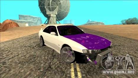 Nissan Silvia S14 Drift para visión interna GTA San Andreas