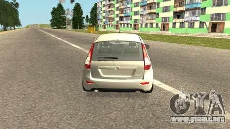 Lada Kalina 2 - Granta para GTA San Andreas left