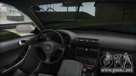 Audi A3 1.8 S3 para GTA San Andreas vista hacia atrás