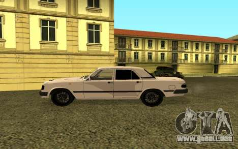 GAS 3110 Volga para GTA San Andreas left
