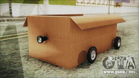 Kart-Box para GTA San Andreas