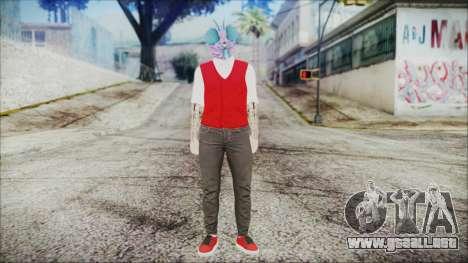 GTA Online Skin 22 para GTA San Andreas segunda pantalla