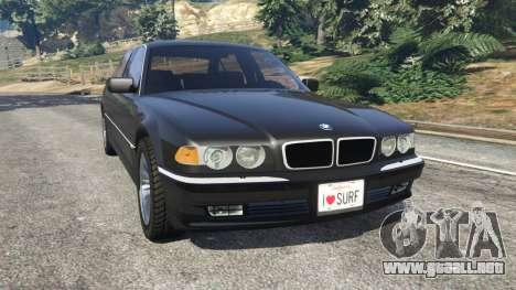 BMW L7 750iL (E38) para GTA 5