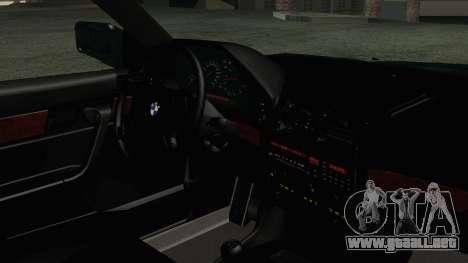 BMW 525i E34 1992 para la visión correcta GTA San Andreas