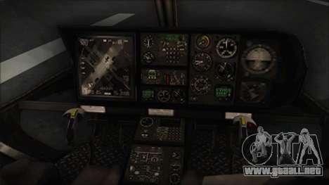 Batman Arkham Knight Police-Swat Helicopter para la visión correcta GTA San Andreas