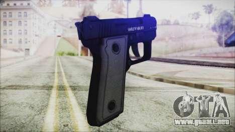GTA 5 SNS Pistol - Misterix 4 para GTA San Andreas segunda pantalla