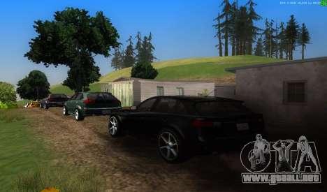 No hay mejor manera para GTA San Andreas segunda pantalla