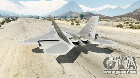 Lockheed Martin F-22 Raptor para GTA 5